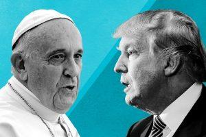 Trump incontra il nuovo leader del mondo laico, Papa Francesco